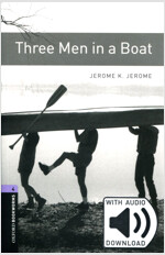 Oxford Bookworms Library: Level 4 : Three Men in a Boat (Paperback + MP3, 3rd Edition)