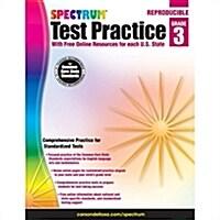 Spectrum Test Practice, Grade 3 (Paperback)
