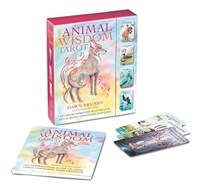 The Animal Wisdom Tarot : An Inspirational Guide to Using Tarot Cards and Their Meanings (Package)