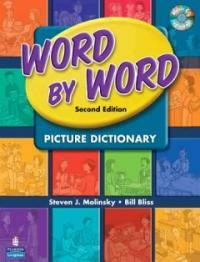 Word by Word Picture Dictionary with Wordsongs Music CD [With CD] (Paperback, 2)