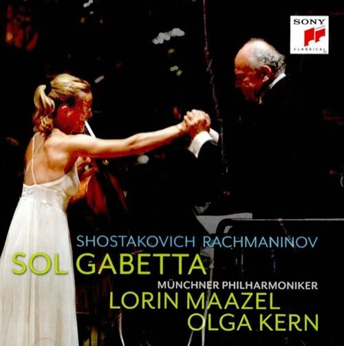 [수입] 가베타 - 쇼스타코비치 : 첼로 협주곡 1번, 라흐마니노프 : 첼로 소나타 Op. 19