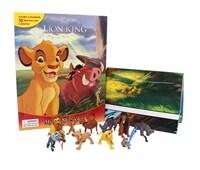 Disney Lion King My Busy Book 디즈니 라이온 킹 비지북 (미니피규어 10개 + 놀이판)