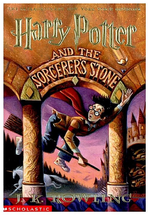 [중고] Harry Potter and the Sorcerers Stone (Paperback, 미국판)