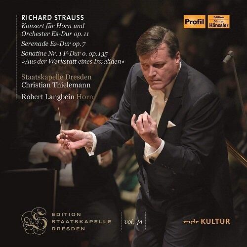 [수입] 슈트라우스: 메타모르포젠, 호른 협주곡 op.11, 세레나데 op.7 & 소나티네 1번 op.135 [2CD]