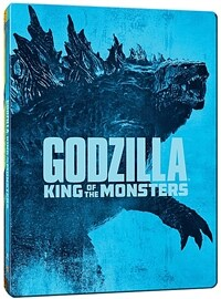 [4K 블루레이] 고질라 : 킹 오브 몬스터 - 스틸북 한정판 (2disc: 4K UHD + 2D)