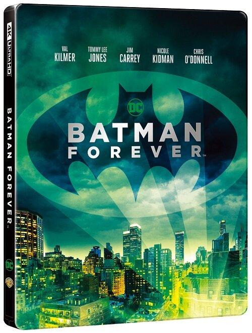 [중고] [4K 블루레이] 배트맨 포에버 : 스틸북 한정판 (2disc: 4K UHD + 2D)