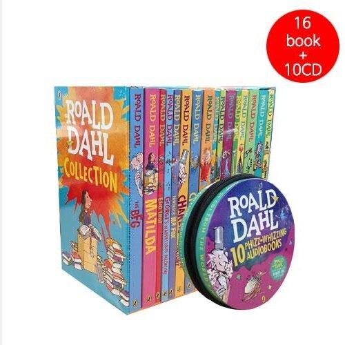 [세트] 로알드달 베스트 16종 Book + CD 29장 세트