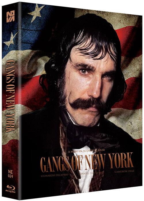 [블루레이] 갱스 오브 뉴욕 : 스틸북 한정판 풀슬립