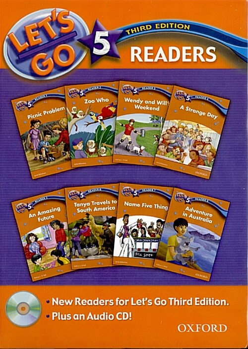 Lets Go: 5: Readers Pack (Package, 3 Revised edition)