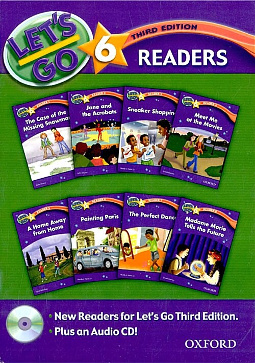 Lets Go: 6 Readers Pack (Package, 3 Revised edition)