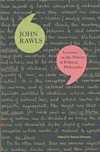 Lectures on the History of Political Philosophy (Paperback)