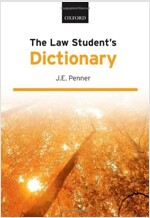The Law Student's Dictionary (Paperback, 13 Revised edition)