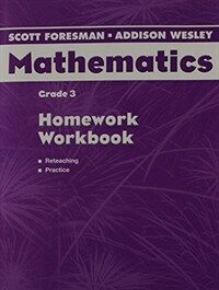Scott Foresman Addison Wesley Math 2004 Homework Workbook Grade 3 (Paperback)