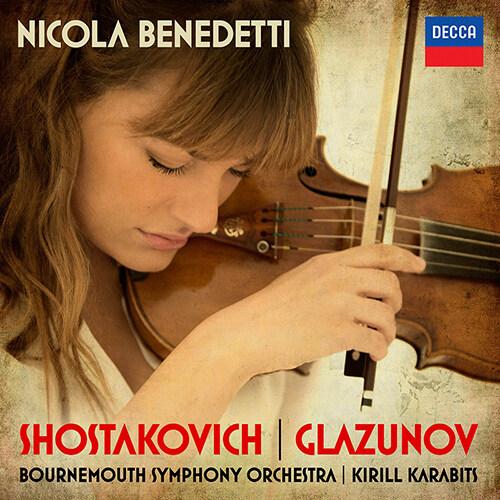 쇼스타코비치 & 글라주노프 : 바이올린 협주곡