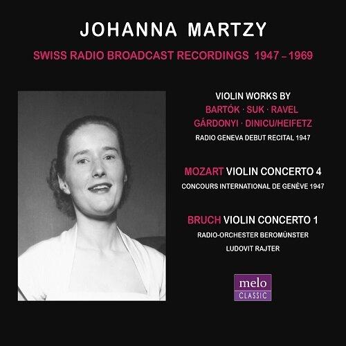 [수입] 요한나 마르치 - 스위스 방송 녹음 1947-1969