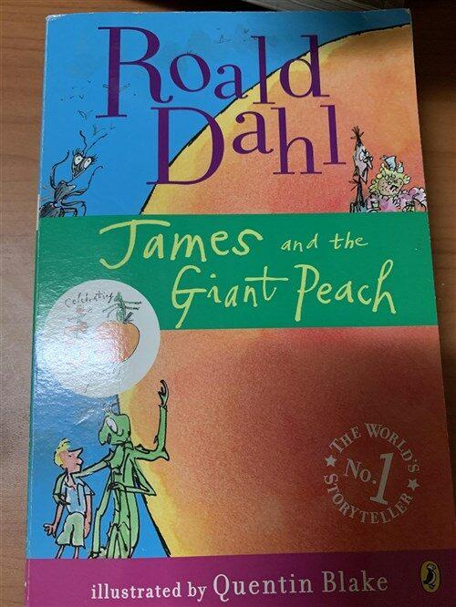 [중고] James and the Giant Peach (Paperback)