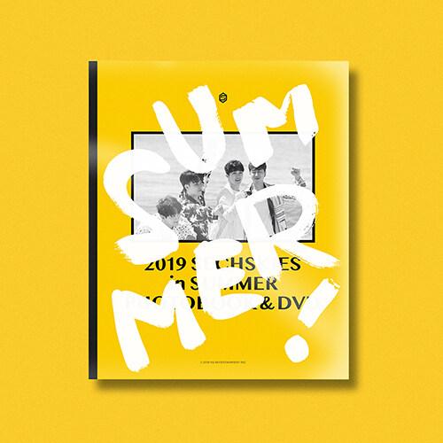 [굿즈] 젝스키스 - 2019 SECHSKIES in SUMMER PHOTOBOOK & DVD [3DVD]