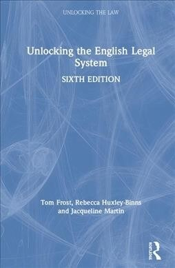 Unlocking the English Legal System (Hardcover, 6 New edition)