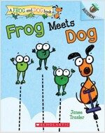 Frog Meets Dog: An Acorn Book (a Frog and Dog Book #1), Volume 1 (Paperback)