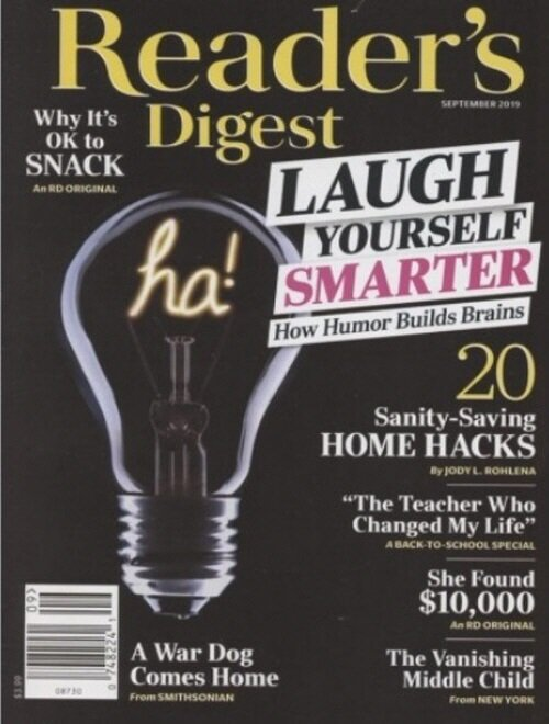Readers Digest (월간 미국판): 2019년 09월호