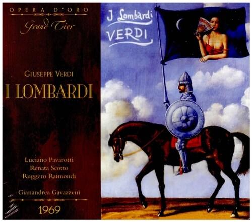 [수입] 베르디 : 롬바르디아의 제 1차 십자군 원정 [리마스터 2CD]