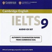 Cambridge IELTS 9 Audio CDs (2) : Authentic Examination Papers from Cambridge ESOL (CD-Audio)
