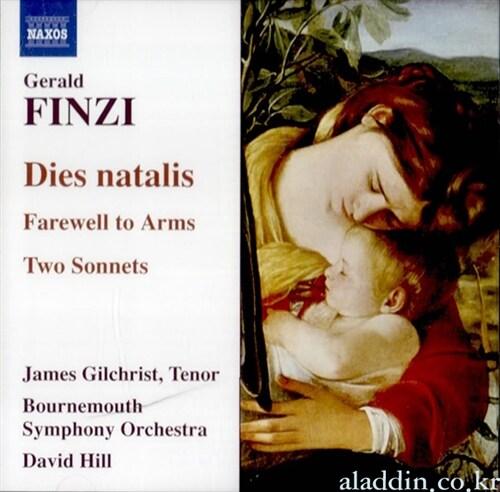 [수입] 핀지 : 디에스 나탈리스, 현을 위한 전주곡, 야상곡 & 무기여 잘있거라