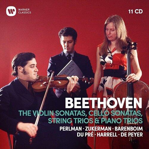 [수입] 베토벤 : 바이올린 소나타, 첼로 소나타 & 삼중주 [오리지널 커버 11CD]