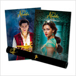 디즈니 알라딘 포스터 컬렉션 (5장 + 지관통)
