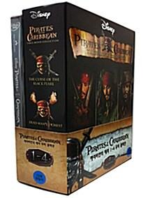 캐리비안의 해적 4부작 컬렉션 박스세트 (7disc)