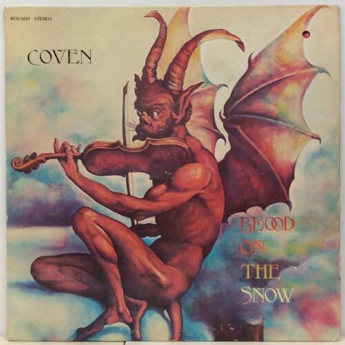 [수입] Coven - Blood on the Snow [Red & White LP] [Edition]