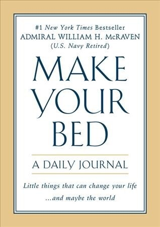 Make Your Bed: A Daily Journal (Paperback)