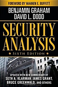 [중고] Security Analysis: Sixth Edition, Foreword by Warren Buffett (Hardcover, 6, Revised)