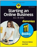 Starting an Online Business All-In-One for Dummies (Paperback, 6)