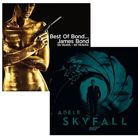 Best Of Bond… James Bond: 50 Years [2CD] + Adele - Skyfall [Single] 합본 패키지
