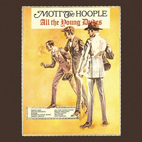[수입] Mott The Hoople - All the Young Dudes [180g LP]