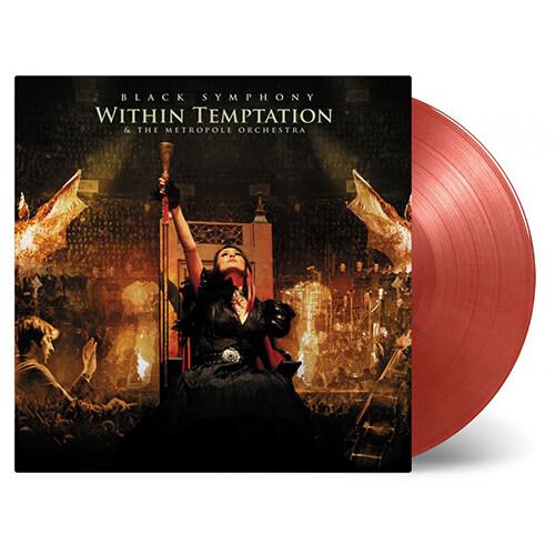 [수입] Within Temptation - Black Symphony [180g 골드&레드 마블 3LP]