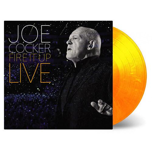 [수입] Joe Cocker - Fire It Up (Live) [180g 레드&오렌지 믹스 3LP]