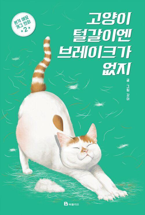 [고화질] 고양이 털갈이엔 브레이크가 없지 02