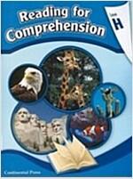 Reading for Comprehension Student Workbook Level H (Paperback)