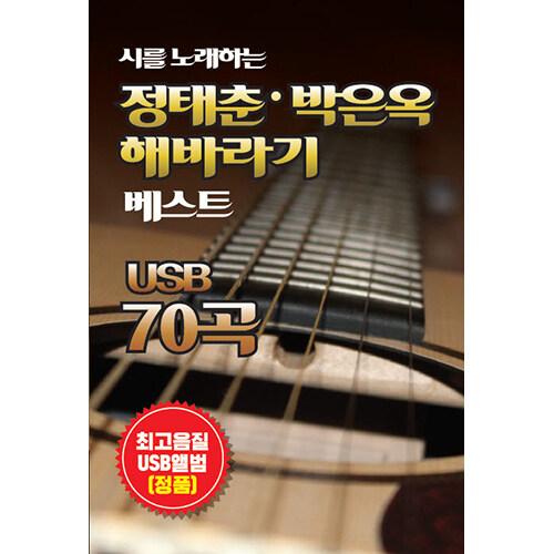 [USB] 시를 노래하는 정태춘 박은옥 해바라기 베스트 USB 70곡