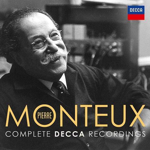 [수입] 몽퇴 - Decca, Philips, Westminster & Decca/RCA 전집 [오리지널 커버 24CD 한정반]