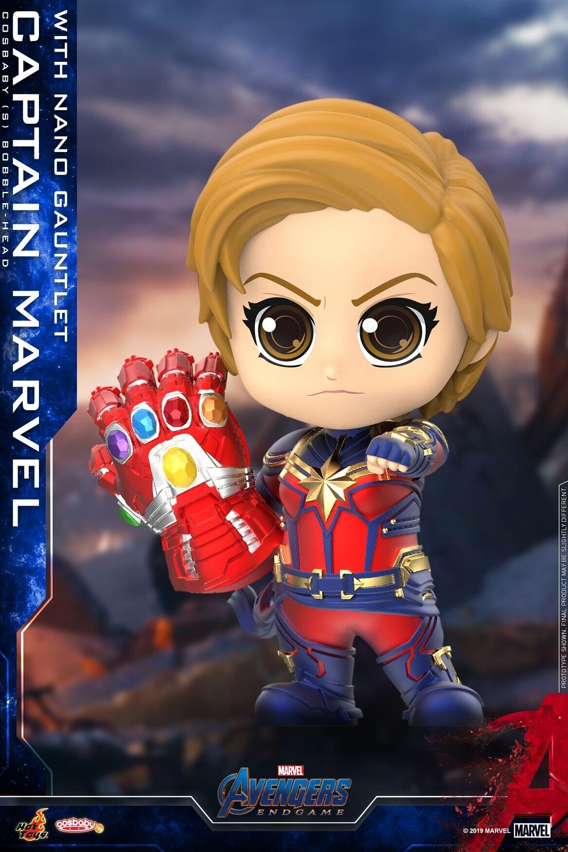 [Hot Toys] 코스베이비 어벤져스 : 엔드게임 캡틴마블 with 나노건틀렛 COSB680