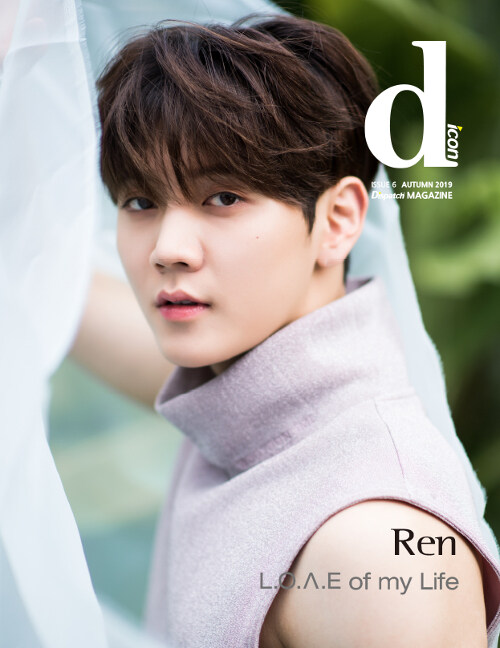 D-icon vol.6 뉴이스트 NU'EST L.O.ㅅ.E of my Life : Ren [방콕]