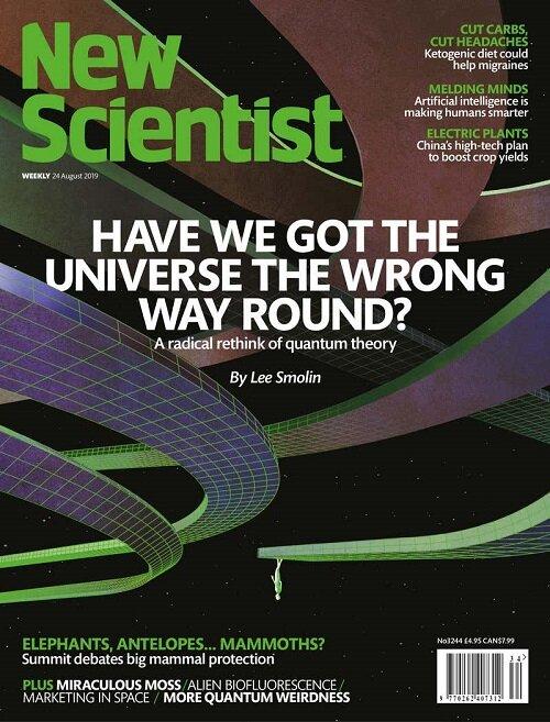 New Scientist (주간 영국판): 2019년 08월 24일