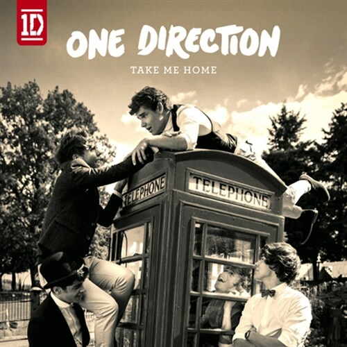 One Direction - 2집 Take Me Home [Korea Special Limited Edition]