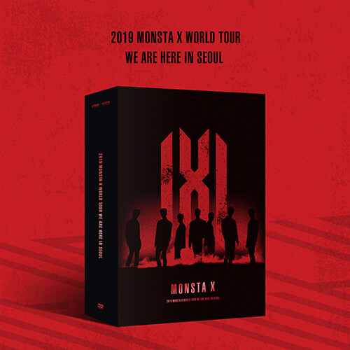 몬스타엑스 - 2019 MONSTA X WORLD TOUR [WE ARE HERE] IN SEOUL DVD [디지팩]