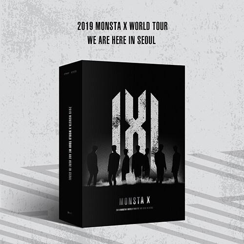 [키트 형태] 몬스타엑스 - 2019 MONSTA X WORLD TOUR [WE ARE HERE] IN SEOUL KiT VIDEO [키트 비디오]