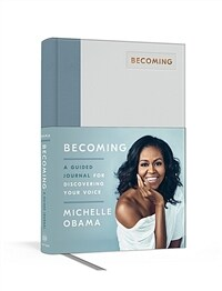 Becoming: A Guided Journal for Discovering Your Voice (Hardcover)