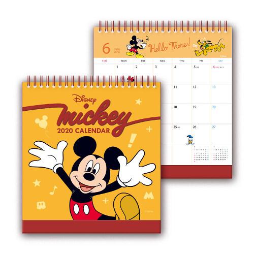 미키 마우스 탁상 달력 2020 : 미키 마우스 캘린더